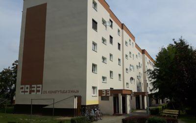 Zakończenie głównych prac dociepleniowych na budynkach 29-30 i 31-33 na Osiedlu Konstytucji 3 Maja