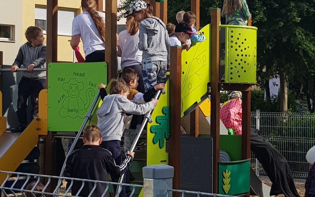 Festyn z okazji otwarcia placu zabaw na Osiedlu Jagiellońskim