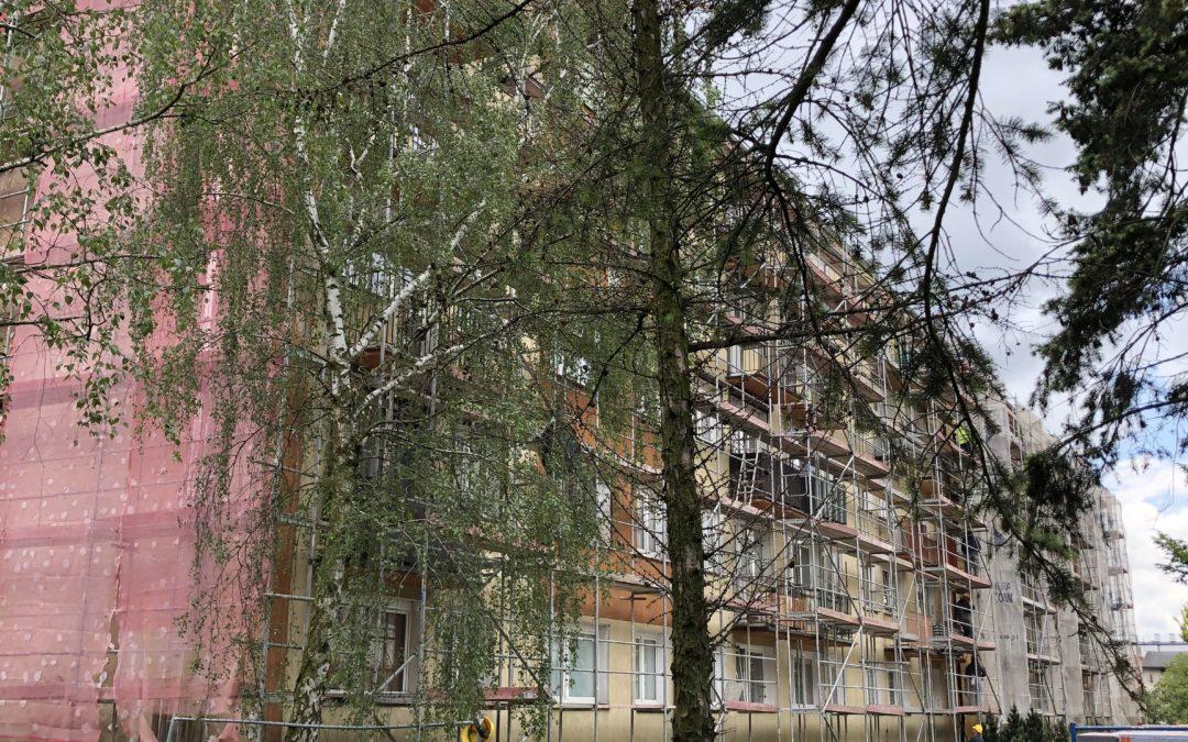Prace termomodernizacyjne na Osiedlu Piastowskim
