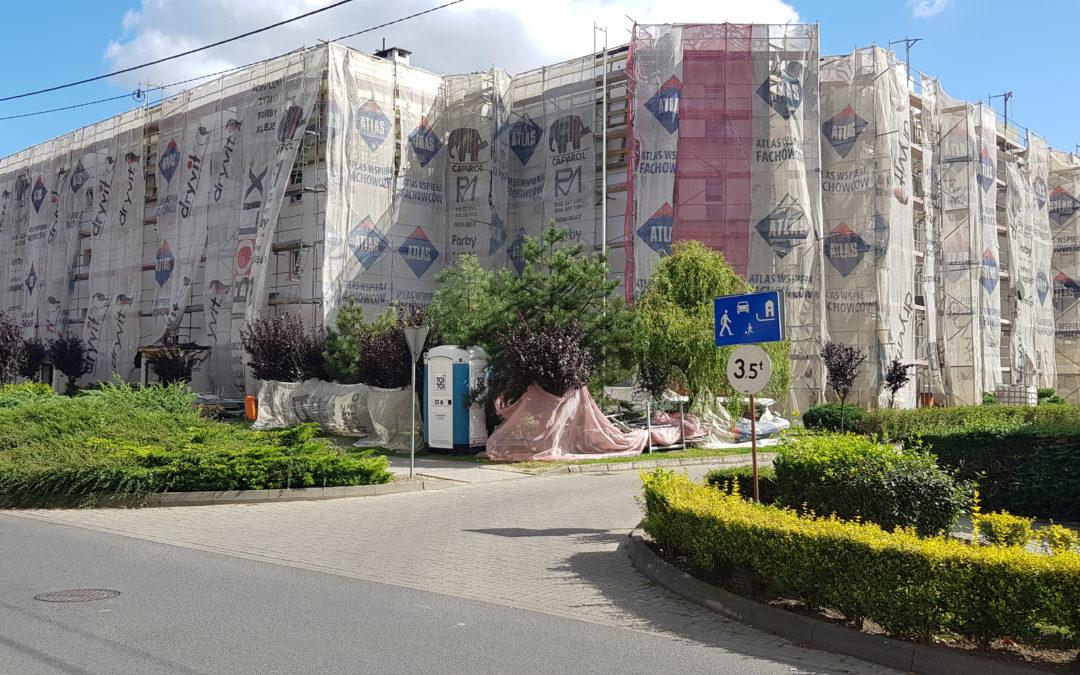 Kompleksowa rewitalizacja budynków na Osiedlu Konstytucji 3-go Maja